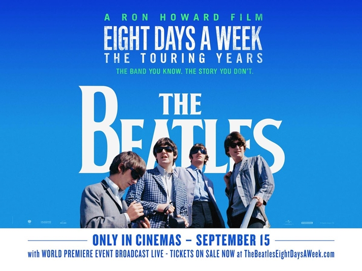 Póster: The Beatles: Eight days a week