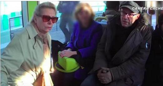 Une dame âgée qui veut s'asseoir, un monsieur qui râle contre les vieux: et vous comment auriez-vous réagi? (vidéo)