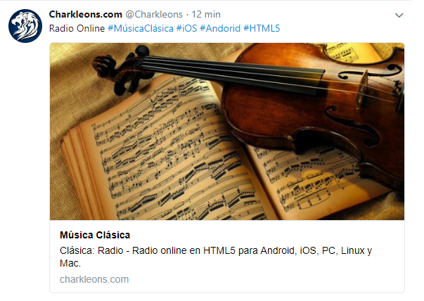 Twittercard - Metatag o metaetiqueta para twitter en blogger