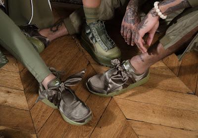 Sepatu PUMA X Fenty Rihanna Terbaru Bow and slide