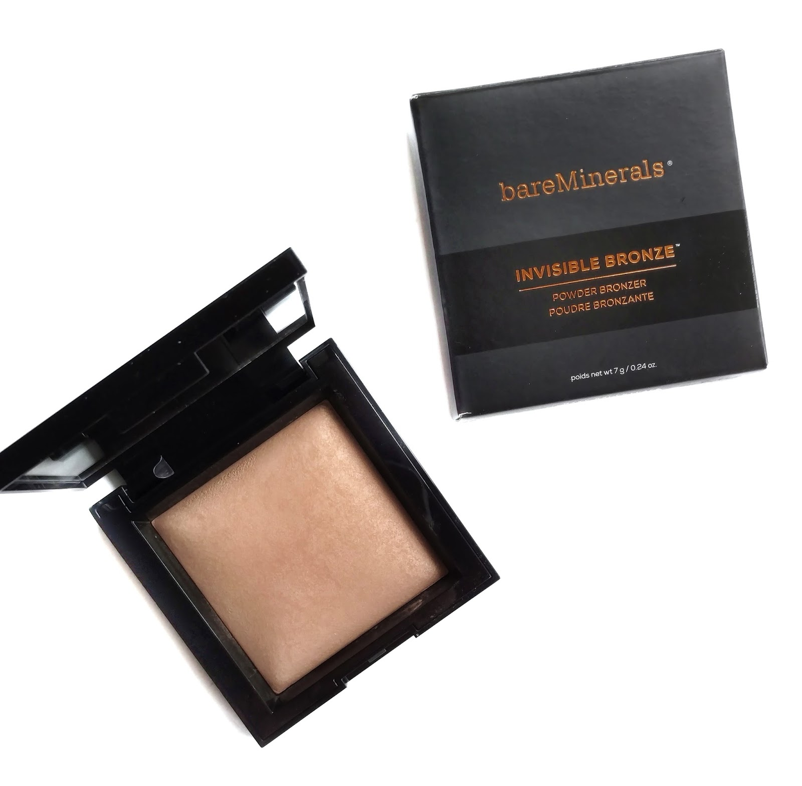 bareminerals invisible bronze review