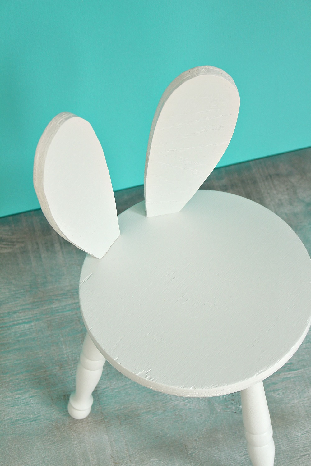 DIY Bunny Stool Hack