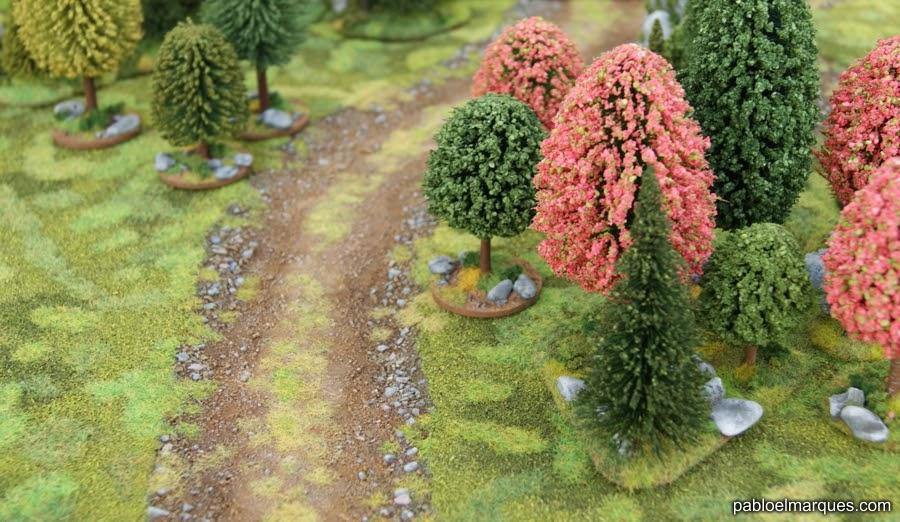 Bosques de colores