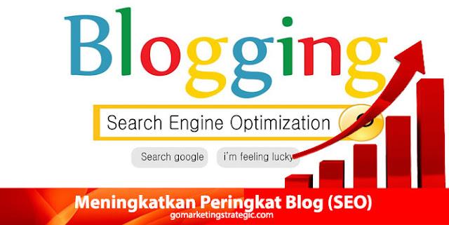 Meningkatkan Peringkat Blog atau website (SEO)