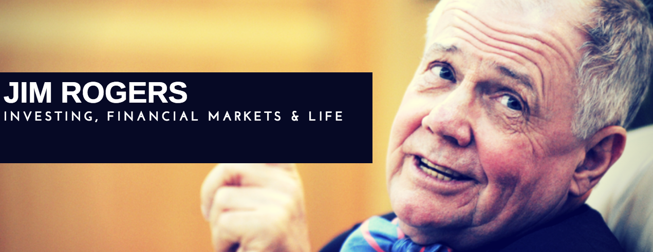 Jim Rogers Talks Markets