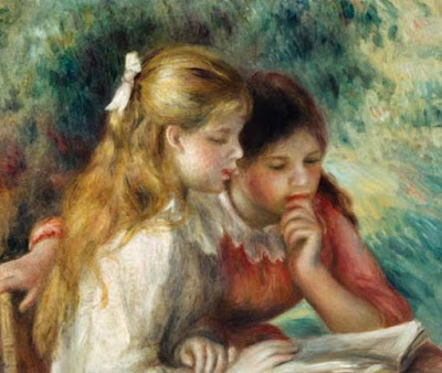 The Reading - Pierre-Auguste Renoir