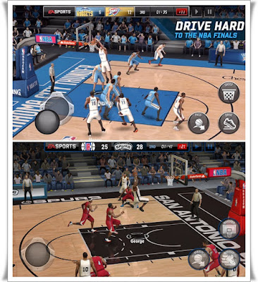 NBA LIVE Mobile Basketball Screenshots