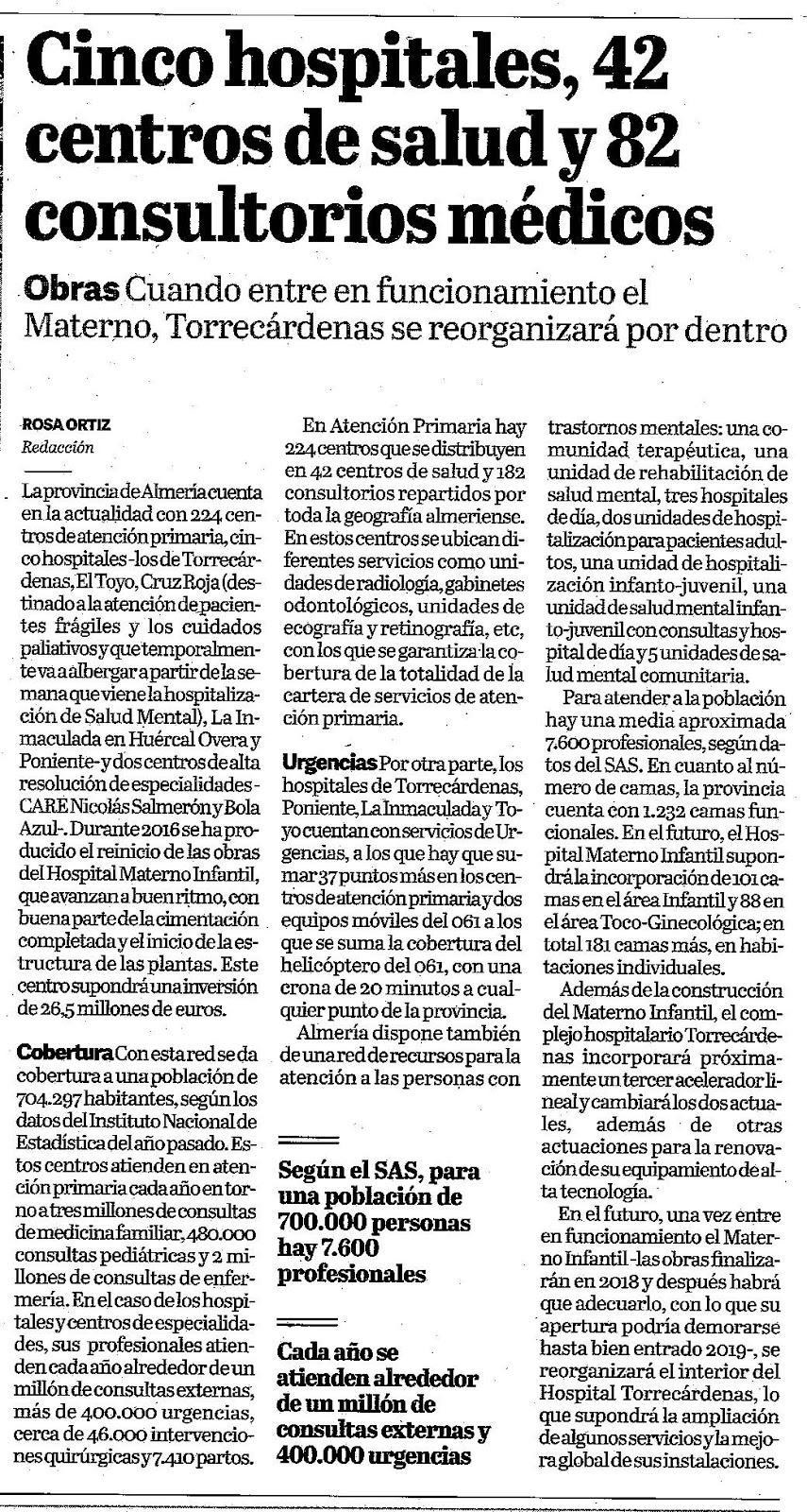 Colegio oficial de m dicos de almer a for Centro de salud ciudad jardin almeria