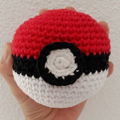 pokeball pokemon crochet tuto diy