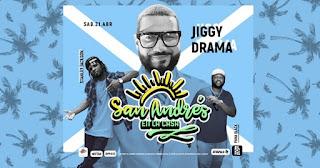 San Andrés en la Casa 2018 con Jiggy Drama