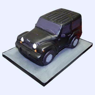 Jeep Wrangler Birthday Cake Kathy Dvorski Cakes