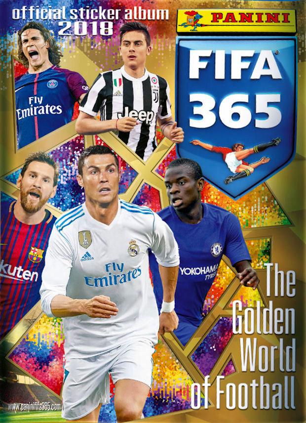 f64600431 Football Cartophilic Info Exchange  Panini - FIFA 365 2018 - The ...