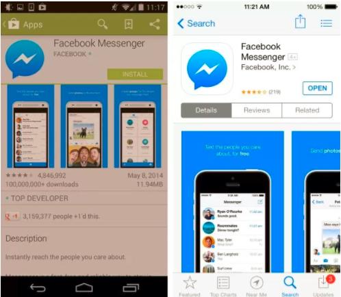 M Facebook Messenger Download