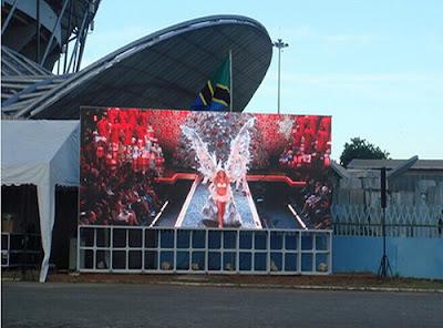 Lắp đặt màn hình led p2 outdoor  tại quận Phú Nhuận