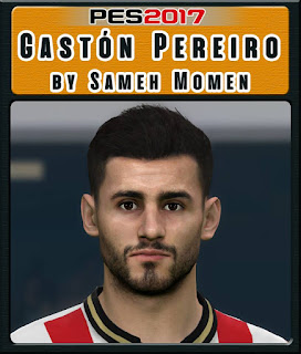 PES 2017 Faces Gastón Pereiro by Sameh Momen