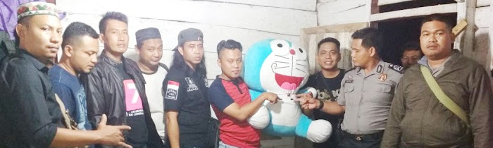 Simpan Sabu Dalam Boneka Doraemon Seorang Warga Ditangkap Polisi