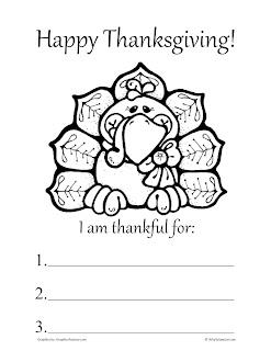 Thanksgiving Worksheets & Drawings