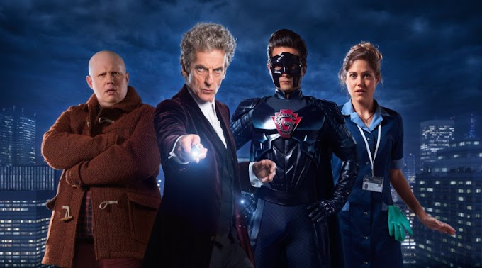 Doctor Who: The Return of Doctor Mysterio, creerás que un hombre puede volar
