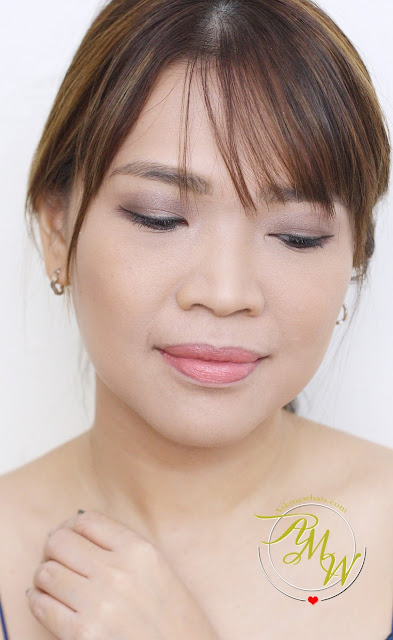 a photo of Nikki Tiu AskMeWhats wearing Revlon Eyes, Cheeks, Lips Palette in Romantic Nudes