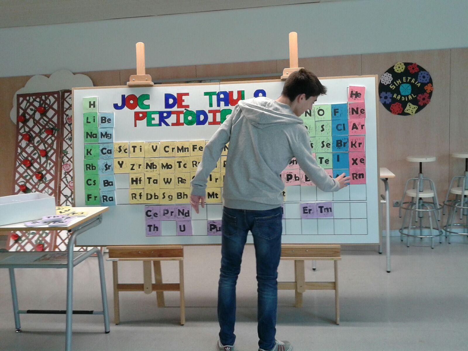 La agitada vida de los elementos tabla peridica con leds elaborada sobre tablero de dimensiones 240x120 por los alumnos de tecnologa y fp bsica esta tabla peridica lleva unos urtaz Image collections