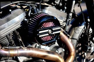 sportster 1200 roadster black rain xlcr style by hd speed shop