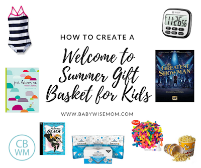 What to Put in a Welcome to Summer Gift Basket for Your Kids