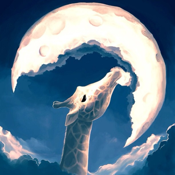 09-The-Fable-of-the-Giraffe-Rolando-Cyril-Aquasixio-Digital-Art-Cocktail-1-Part-Surrealism-and-1-Part-Fantasy-www-designstack-co