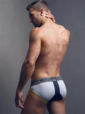 2Eros Pro Aktiv Brief Underwear Titanium Back Gayrado Online Shop