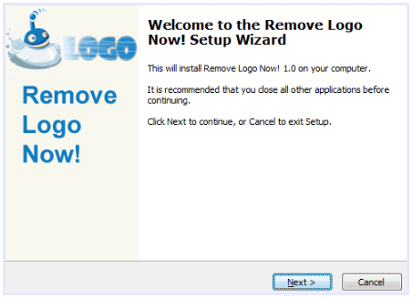 Install Remove Logo Now