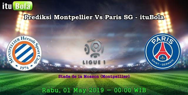 Prediksi Montpellier Vs Paris SG - ituBola
