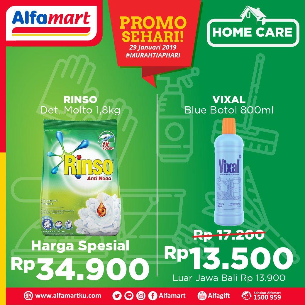 #Alfamart - #Promo sehari Tgl 29 Januari 2019