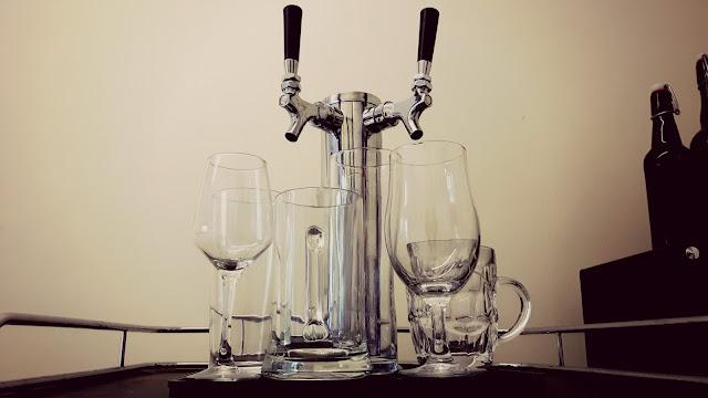 Glassware line-up