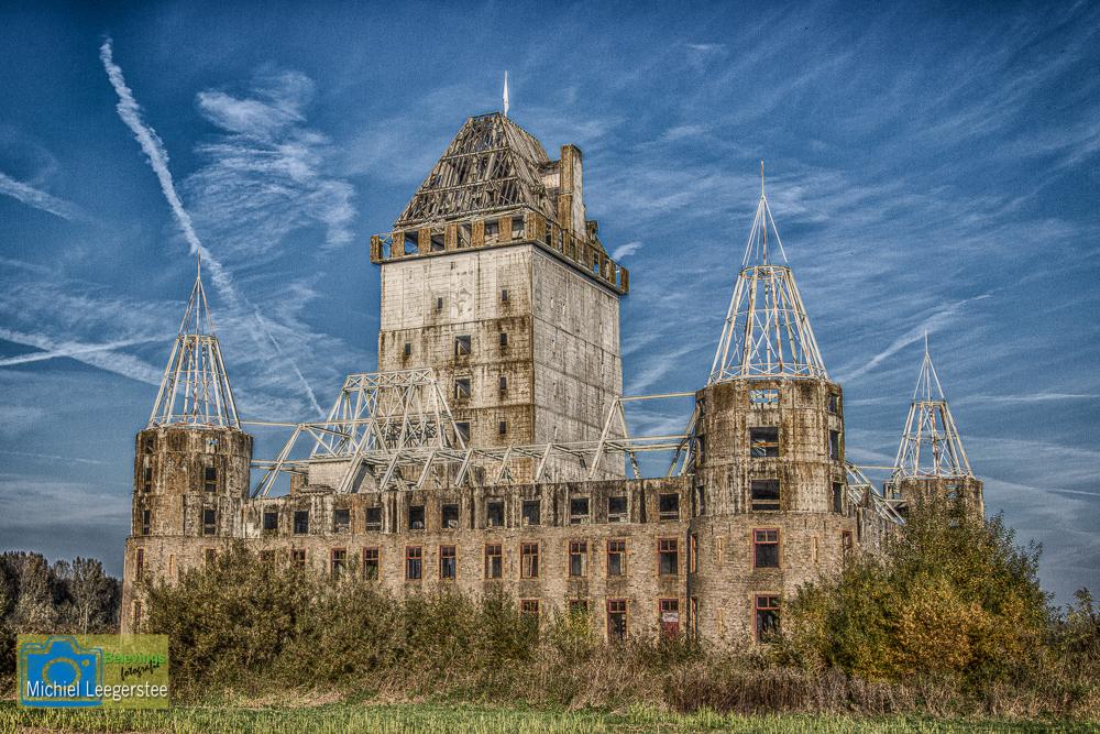 belevingsfotografie: kasteel (ruïne) almere