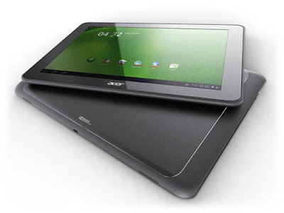 Acer Iconia Tab A700 Specifications - LAUNCH Announced 2012, January  This is not a GSM device, it will not work on any GSM network worldwide DISPLAY Type LCD capacitive touchscreen, 16M colors Size 10.1 inches (~65.3% screen-to-body ratio) Resolution 1920 x 1200 pixels (~224 ppi pixel density) Multitouch Yes BODY Dimensions 259 x 175 x 11 mm (10.20 x 6.89 x 0.43 in) Weight 665 g (1.47 lb) SIM No PLATFORM OS Android OS, v4.0 (Ice Cream Sandwich) CPU Quad-core 1.3 GHz Chipset Nvidia Tegra 3 GPU ULP GeForce MEMORY Card slot microSD, up to 32 GB (dedicated slot) Internal 16/32/64 GB, 1 GB RAM CAMERA Primary 5 MP, autofocus, LED flash Secondary Yes Features Geo-tagging Video 720p NETWORK Technology No cellular connectivity 2G bands N/A GPRS No EDGE No COMMS WLAN Wi-Fi 802.11 b/g/n GPS Yes, with A-GPS USB microUSB v2.0, USB v2.0 Radio No Bluetooth v2.1, EDR FEATURES Sensors Accelerometer, gyro, compass Messaging Email, Push Email, IM Browser HTML5, Adobe Flash Java No SOUND Alert types Vibration; MP3, WAV ringtones Loudspeaker Yes, with stereo speakers 3.5mm jack Yes  - Dolby Mobile 3 BATTERY  Non-removable Li-Ion 9800 mAh battery Stand-by  Talk time  Music play  MISC Colors Titanium Gray, Metallic Red  - HDMI port - MP3/WAV/WMA/eAAC+ player - XviD/MP4/H.264 player - Organizer - Document viewer - Predictive text input