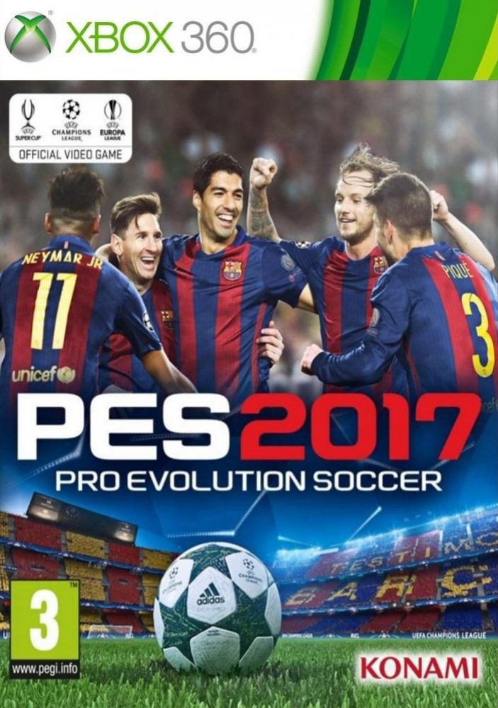 Pro Evolution Soccer 2017 XBOX 360 ESPAÑOL Descargar