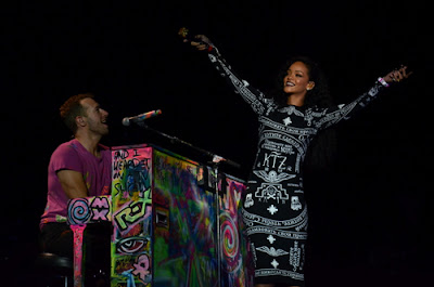 Coldplay & Rihanna au Stade de France