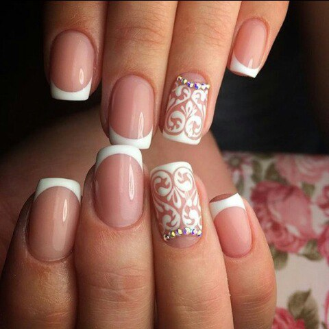 exquisite wedding nail art ideas for your dday