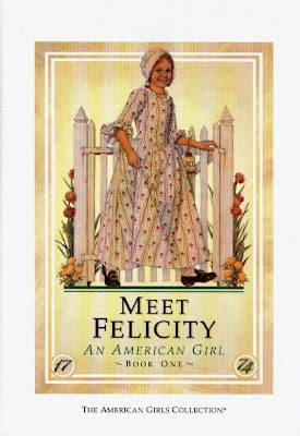 Meet Felicity American Girl doll book