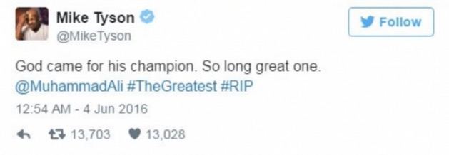 Kematian Lagenda Tinju, Muhammad Ali Dirasai Peminat Dan 'Musuh'