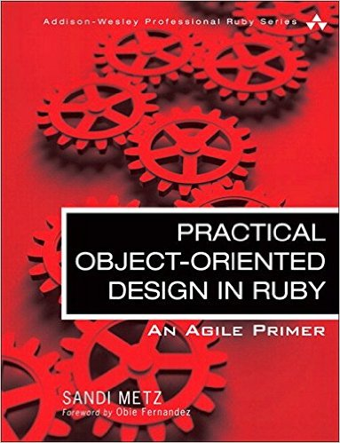 Practical Object-Oriented Design in Ruby front cover