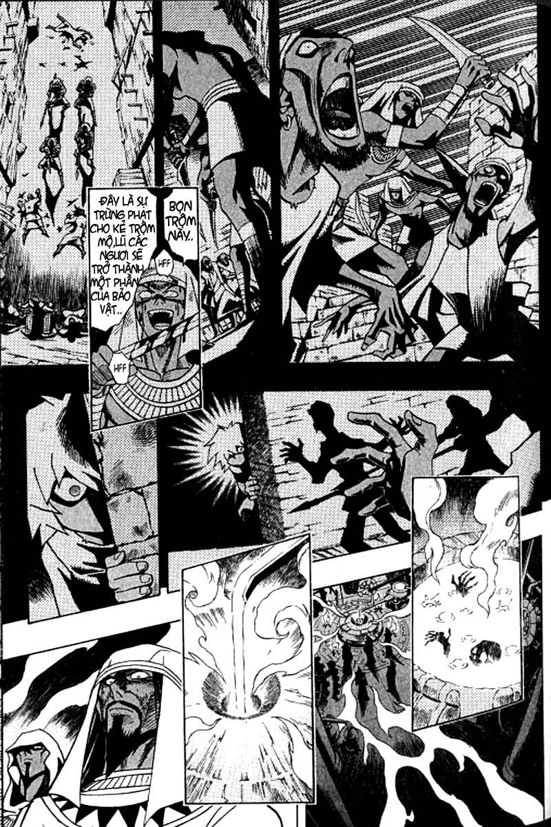 YUGI-OH! chap 308 - sự hồi sinh của các bảo vật ngàn năm trang 11
