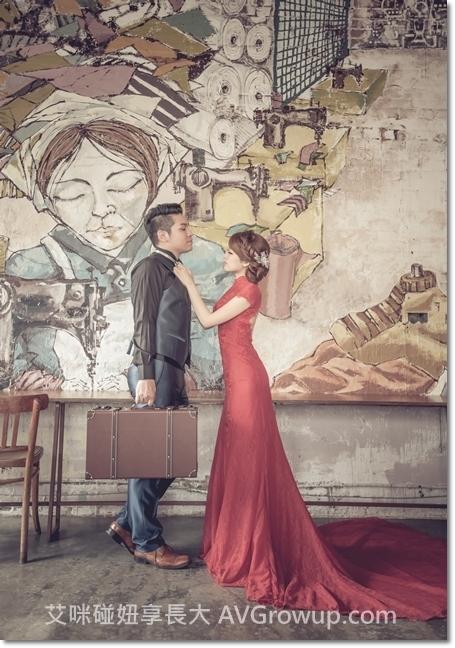 婚紗道具-復古行李箱-復古婚紗-食尚曼谷