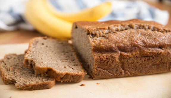 Pan de banana con aceite