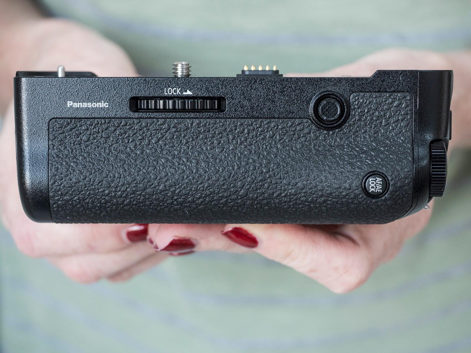 Батарейный блок Panasonic DMW-BGG9 — вид сзади