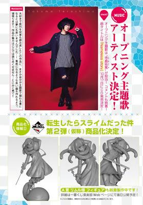 "Anunciado opening para ""Tensei Shitara Slime Datta Ken"""