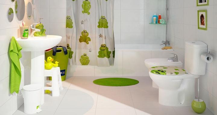 Marzua: Cómo decorar un cuarto de baño infantil