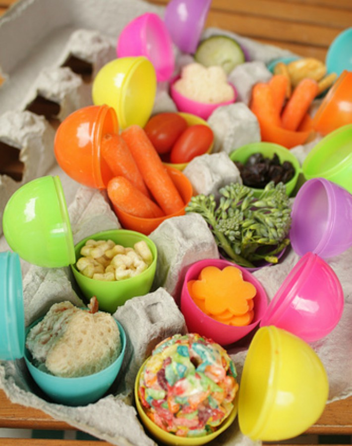 Decoraci n f cil 7 diy con envases de pl stico con forma - Envases de huevos ...