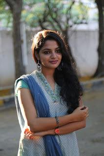Actress Nikila Stills in Salwar Kameez at Vetrivel Movie Team Interview  0001