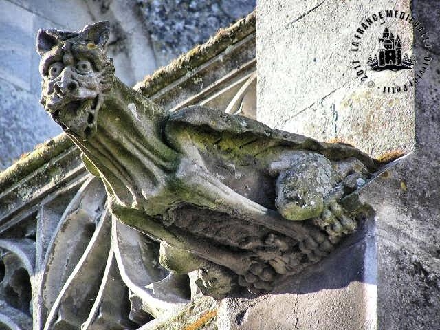 BEUZEUVILLE (27) - Eglise Saint-Hélier (XIIe-XVIe siècles)