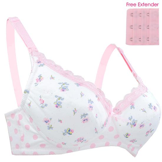 f9f8f31246 BongBongIdea  Autumnz - SASHA Padded Nursing Maternity Bra-Pink